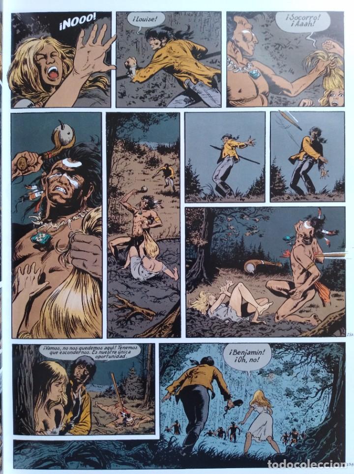 Cómics: PIONEROS DEL NUEVO MUNDO 1-2-3-4-5 COMPLETA. Maryse /Jean-François Charles/Ersel - Foto 16 - 262553370