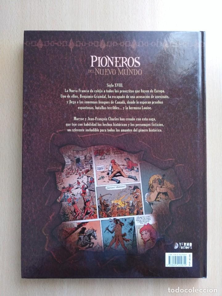 Cómics: PIONEROS DEL NUEVO MUNDO 1-2-3-4-5 COMPLETA. Maryse /Jean-François Charles/Ersel - Foto 18 - 262553370