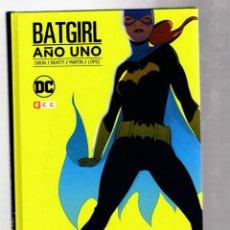 Cómics: BATGIRL : AÑO UNO - ECC / DC / TAPA DURA / NUEVO DE EDITORIAL. Lote 262022315