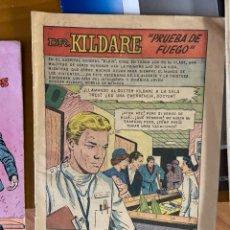 Cómics: MEDICOS Y ENFERMERAS DR KILDARE Nº 14 PRUEBA DE FUEGO. Lote 262768140