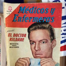 Cómics: MEDICOS Y ENFERMERAS EL DOCTOR KILDARE Nº 10. Lote 262768415