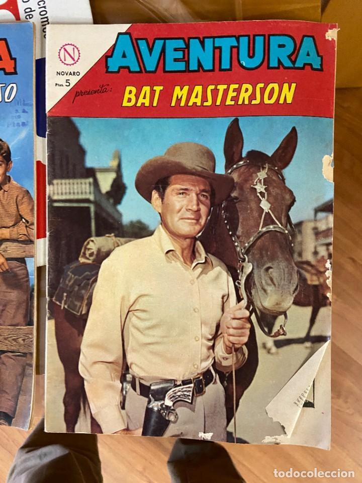 AVENTURA BAT MASTERSON Nº 322 CORRECTO (Tebeos y Comics Pendientes de Clasificar)