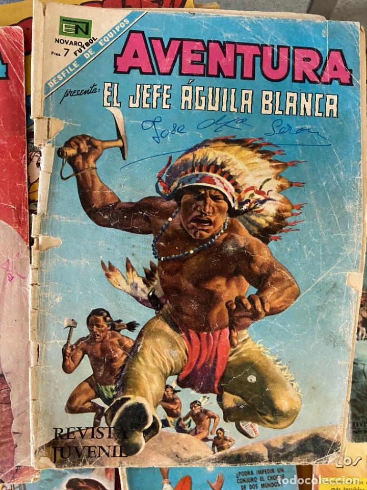 AVENTURA EL JEFE AGUILA BLANCA Nº 541 (Tebeos y Comics Pendientes de Clasificar)