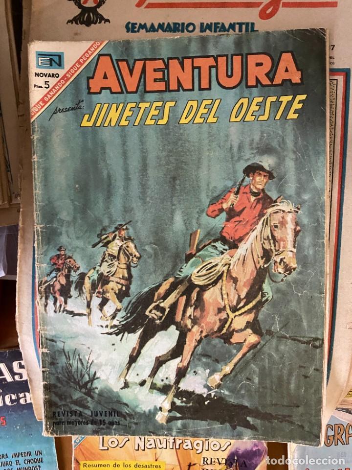 AVENTURA JINETES DEL OESTE Nº 485 CORRECTO (Tebeos y Comics Pendientes de Clasificar)