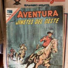 Cómics: AVENTURA JINETES DEL OESTE Nº 485 CORRECTO. Lote 262771885