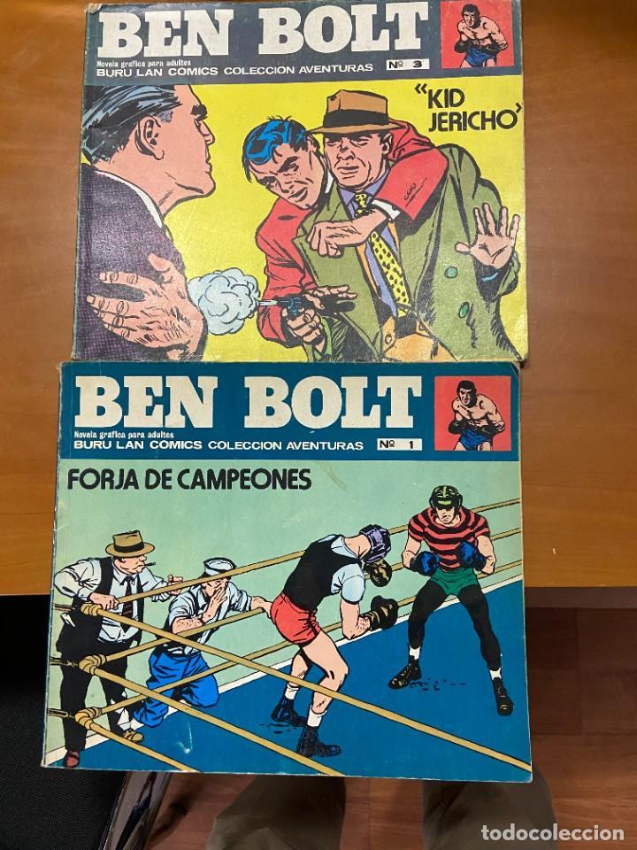 BEN BOLT Nº 1 Y 3 BUEN ESTADO (Tebeos y Comics Pendientes de Clasificar)