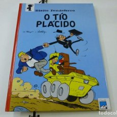 Cómics: BIEITO FENDEFERRO - O TIO PLACIDO - PEYO -EDITA CASALS -AÑO 1990 - EN GALLEGO-TAPA DURA-N 9. Lote 262791955