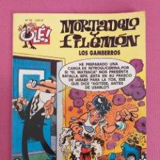 Cómics: MORTADELO Y FILEMON, LOS GAMBERROS, Nº 52. Lote 262817215