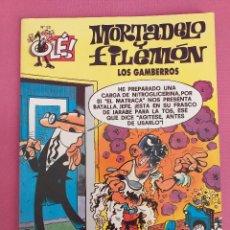 Cómics: MORTADELO Y FILEMON, LOS GAMBERROS, Nº 52. Lote 262817640