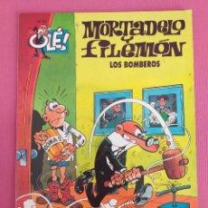 Cómics: MORTADELO Y FILEMÓN Nº 53, LOS BOMBEROS, COLECCIÓN OLÉ. Lote 262817990
