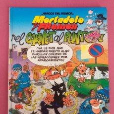 Cómics: MORTADELO Y FILEMÓN, EL CARNET AL PUNTO. Lote 262821440