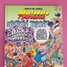 Cómics: MORTADELO Y FILEMON - MISIÓN TRIUNFO. Lote 262821575