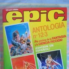 Cómics: EPIC ANTOLOGIA TOMO RETAPADO Nº 1-2-3 ED. DISTRINOVEL 1982. Lote 262937305