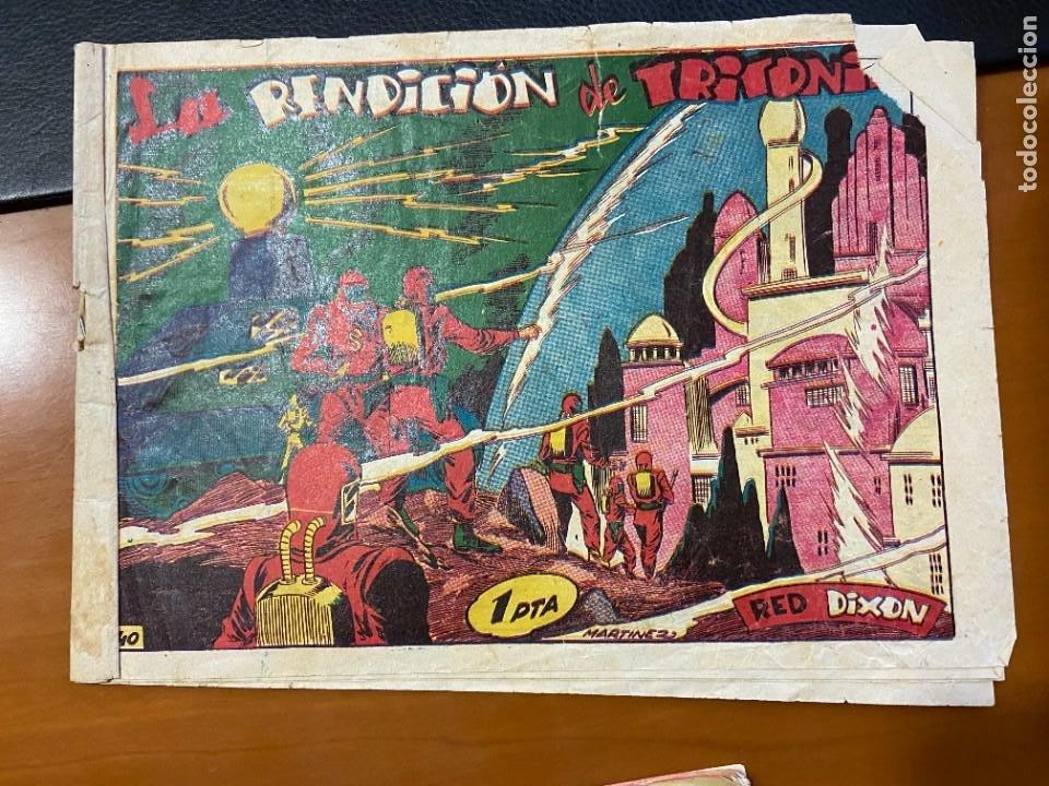 RED DIXON Nº 40 (Tebeos y Comics Pendientes de Clasificar)