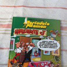 Cómics: MAGOS DEL HUMOR : MORTADELO Y FILEMON: EXPEDIENTE J , CIRCULO DE LECTORES. Lote 262945405