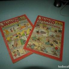Cómics: JAIMITO, 1.75 PESETAS, 409 Y 410, 18 EUROS EL NUMERO. Lote 262945955