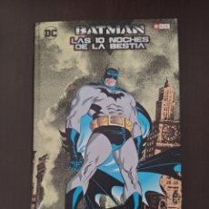 Cómics: BATMAN: LAS 10 NOCHES DE LA BESTIA (ECC) JIM STARLIN, JIM APARO. Lote 262968320