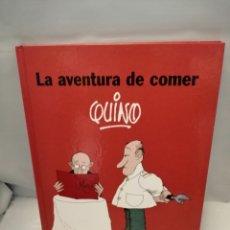 Cómics: LA AVENTURA DE COMER (PRIMERA EDICIÓN). Lote 262865555