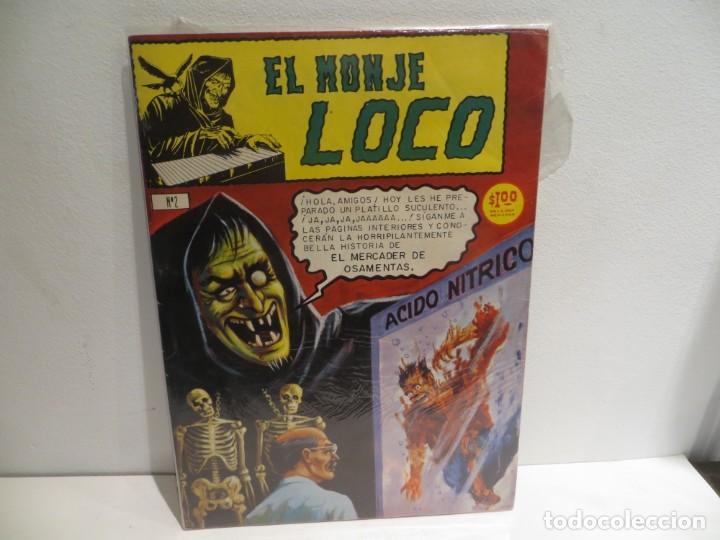 EL MONJE LOCO NUMERO 2 DE EDIT.MINA 15 JULIO DEL 1967 MUY BUEN ESTADO,RARO (Tebeos y Comics Pendientes de Clasificar)