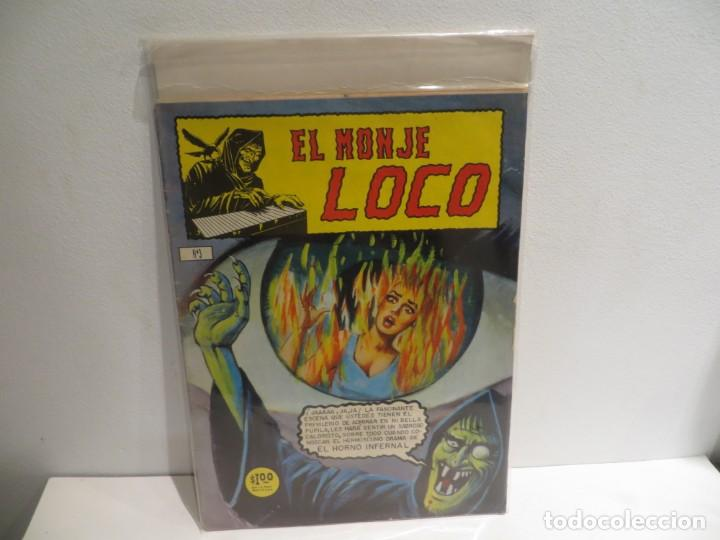 EL MONJE LOCO NUMERO 3 DE EDIT.MINA 15 JULIO DEL 1967 MUY BUEN ESTADO,RARO (Tebeos y Comics Pendientes de Clasificar)