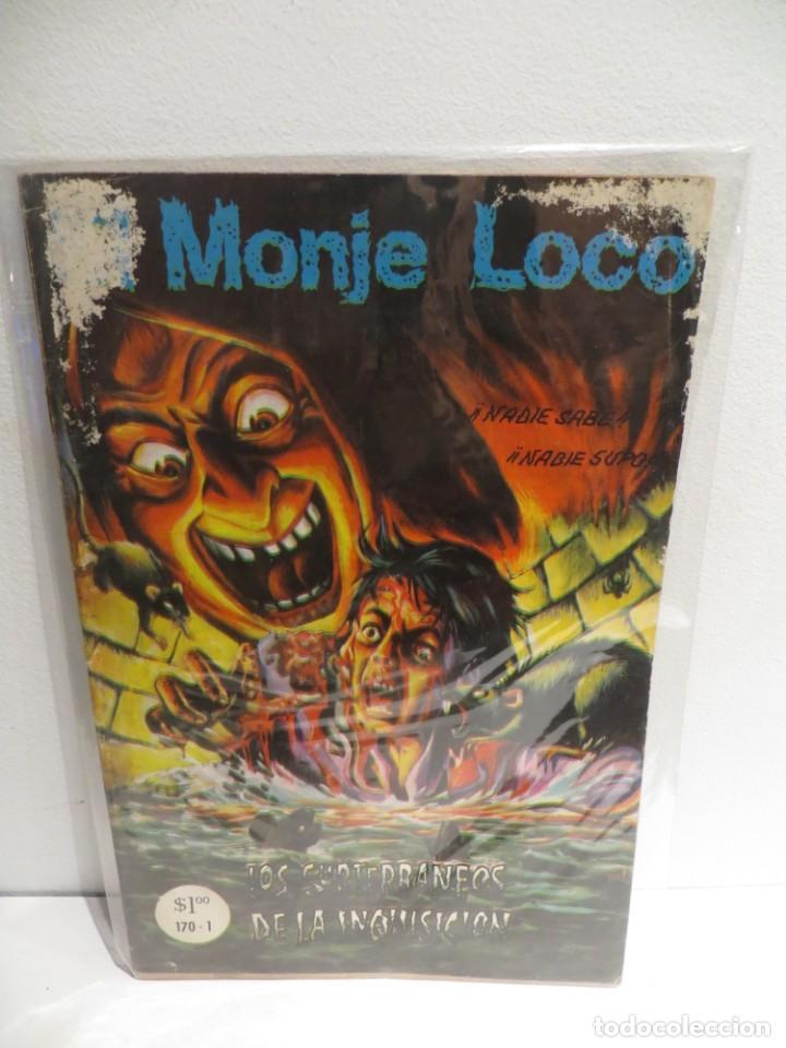 EL MONJE LOCO NUMERO 170 DE EDIT. MAYO DEL 1972 BUEN ESTADO,RARO (Tebeos y Comics Pendientes de Clasificar)