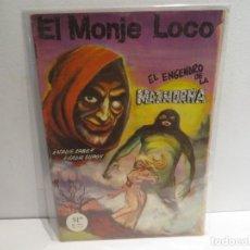 Cómics: EL MONJE LOCO NUMERO 173 DE EDIT, MAYO DEL 1973 MUY BUEN ESTADO,RARO. Lote 263144245