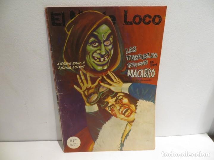 EL MONJE LOCO NUMERO 174 DE EDIT, MAYO DEL 1973 MUY BUEN ESTADO,RARO (Tebeos y Comics Pendientes de Clasificar)