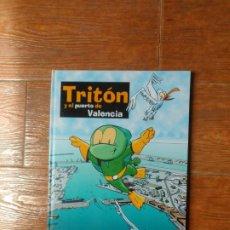 Cómics: TRITÓN Y EL PUERTO DE VALENCIA. AUTORIDAD PORTUARIA DE VALENCIA TAPA DURA 2003. Lote 263182170