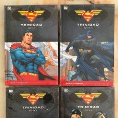 Cómics: TRINIDAD COMPLETA 4 VOL. COLECCIÓN NOVELAS GRÁFICAS BATMAN Y SUPERMAN SALVAT / ECC. Lote 263188395