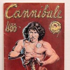 Cómics: CANNIBALE - LIBERATORE - 1978 - DIFICIL. Lote 263625890