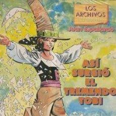 Cómics: ASI SURGIO EL TREMENDO TOBI - LOS ARCHIVOS DEL BOLETIN Nº 5. Lote 264028955