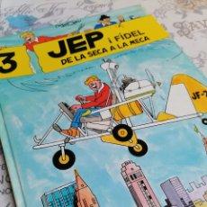 Comics : JEP I FIDEL 3 DE LA SECA A LA MECA PRIMERA EDICIÓ 1990 CASALS. Lote 264036415