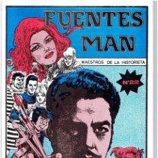 Cómics: FUENTES MAN MAESTROS DE LA HISTORIETA Nº 22 CLUB VALLISOLETANO DE AMIGOS DEL TEBEO BATET. Lote 264037435