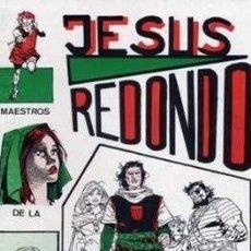 Cómics: JESUS REDONDO MAS SUPLEMENTO MAESTROS DE LA HISTORIETA Nº 21 CLUB VALLISOLETANO DE AMIGOS DEL TEBEO. Lote 264041095