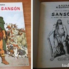 Cómics: SANSÓN RIERA-QUESADA EDITADO POR EL PROPIO AUTOR. Lote 264045490