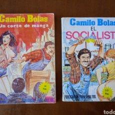 """Cómics: LOTE 2 CÓMIC CAMILO BOLAS. """" UN CORTE DE MANGA """" Y """" EL SOCIALISTA """" PUBLICACIÓN PARA ADULTOS. 1977.. Lote 264247548"""