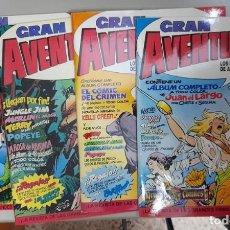 Fumetti: GRAN AVENTURERO, LOTE DE 5 COMICS, DRAGON COMICS, C9560. Lote 264439989