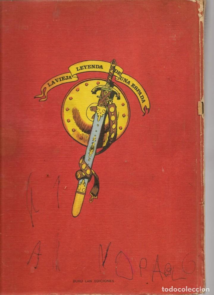 Cómics: PRINCIPE VALIENTE. TOMO 8. GRANDES BATALLAS. BURU LAN EDICIONES. 1973.(B/A59) - Foto 2 - 264677154