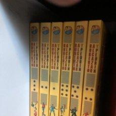 Fumetti: ROBERTO ALCAZAR Y PEDRÍN SERIE 2ª SEGUNDA CARBONELL BARTRA COMPLETA 6 TOMOS LUJO. Lote 264778244