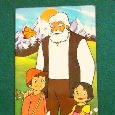 Cómics: HEIDI (1975) HEIDI Y COPITO DE NIEVE - CURIOSO CUENTO CON DIBUJOS BASADOS EN LA SERIE DE TELEVISIÓN. Lote 265183779