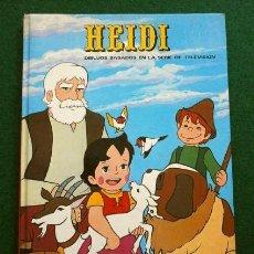 Cómics: HEIDI (1976) DIBUJOS BASADOS EN LA SERIE DE TELEVISIÓN - EDICIONES RECREATIVAS PARA CAJA AHORROS T.V. Lote 265184249