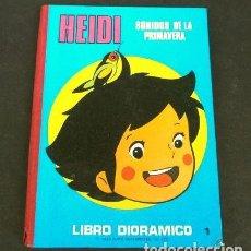 Cómics: HEIDI (1976) SONIDOS DE PRIMAVERA - LIBRO DIORAMICO - Nº 1 (DIFICIL) ED. ROMA - SERIE T.V. TV. Lote 265184789