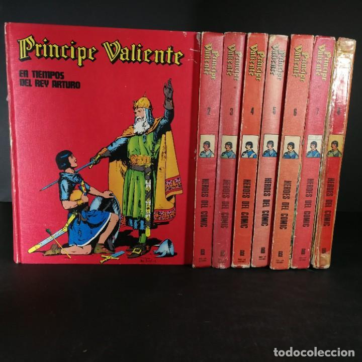 COLECCIÓN COMPLETA PRINCIPE VALIENTE 8 TOMOS BURU-LAN BURULAN DEL 1 AL 8 - OFERTA (Tebeos y Comics - Buru-Lan - Principe Valiente)