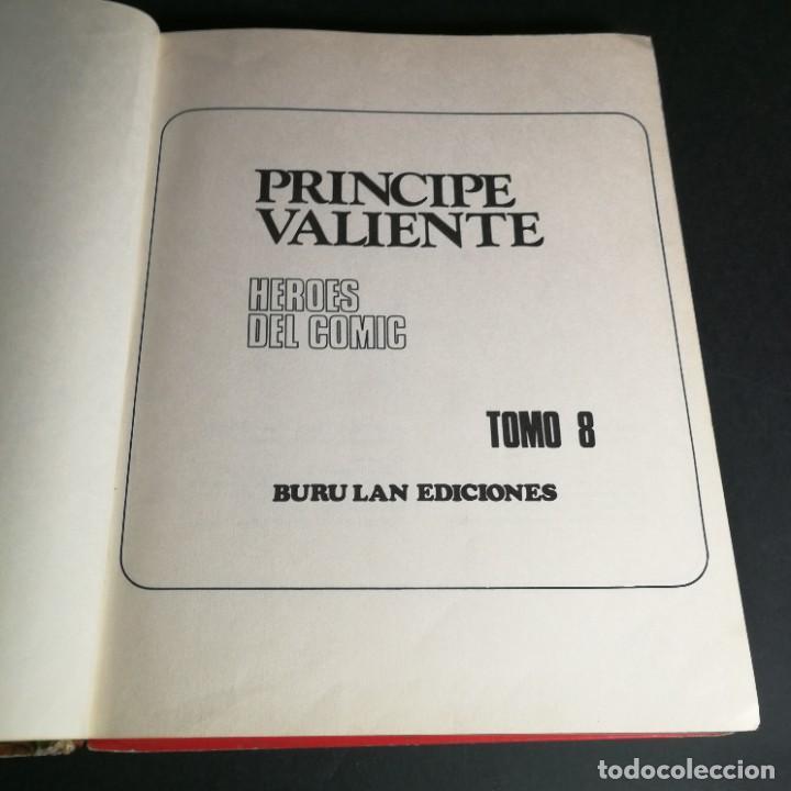 Cómics: COLECCIÓN COMPLETA Principe Valiente 8 Tomos Buru-Lan Burulan del 1 al 8 - OFERTA - Foto 43 - 265409764