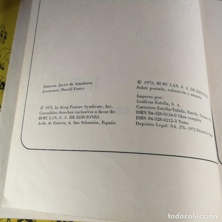 Cómics: COLECCIÓN COMPLETA Principe Valiente 8 Tomos Buru-Lan Burulan del 1 al 8 - OFERTA - Foto 44 - 265409764