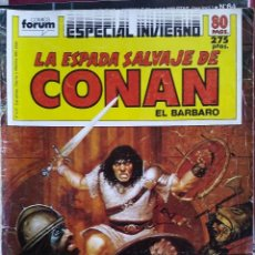 Fumetti: LOTE DE COMICS. LA ESPADA SALVAJE DE CONAN. LA JUDÍA VERDE. SEX POR SEX.. TBO. CIMOC. FOTOS.. Lote 265496244