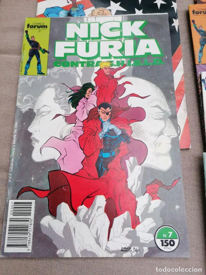 Cómics: Lote de 8 revistas de Nick furia - Foto 2 - 265544879