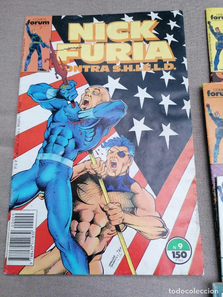 Cómics: Lote de 8 revistas de Nick furia - Foto 3 - 265544879