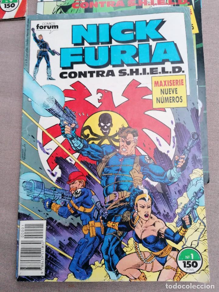 Cómics: Lote de 8 revistas de Nick furia - Foto 4 - 265544879