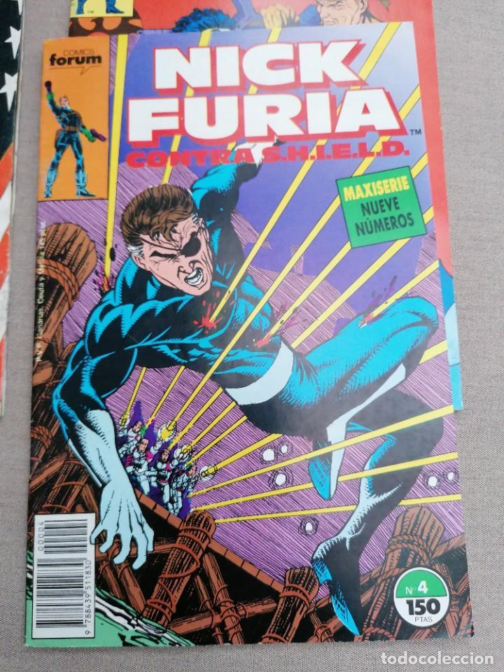 Cómics: Lote de 8 revistas de Nick furia - Foto 6 - 265544879